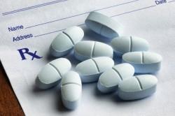 pain pills on Rx pad