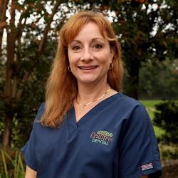 Registered Dental Hygienist Cindy at crabtree dental